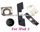 New Home Button Click Inner 5 Set Replacement Part Kit for Apple iPad 2