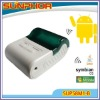 Mini wireless printer (bluetooth printer) with battery