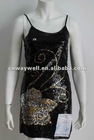 Women fashion sexy hot stage / dance / evening sequin dress