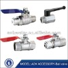 stainless steel 2 way ball valve