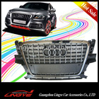 ABS chrome plated front mesh grille for Audi Q5