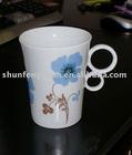 YFM028 finger ceramic mug,finger mug