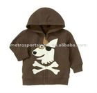 Baby boys' Puppy Pirate Hoodie