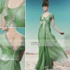 Free Shipping! Coniefox 2012 Elegant Green Bridesmaid Dress 56959