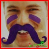 Halloween Colorful Goatee Of Party Items