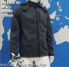 TPU Composite fleece windproof & waterproof jacket outdoor clothing for men