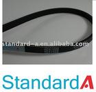 Automotive poly v-belt