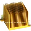 Anodized aluminum heat sink PS015
