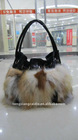CDB005 Women's winter knitted Fox Fur Handbags bag