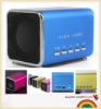 2012 Hot Mini USB speaker with SD/TF card for mobile speaker, Mp3/Mp4 & computer
