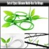 Set of 12pcs Silicone Multi-Use Tie Wraps, YAN505A