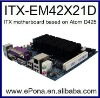 Cheap Intel ATOM D425 based Mini ITX motherboard