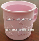 Useful silicone rubber cup