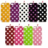 New Arrival Hot Style Lovely Polka Dots TPU case for iphone 5 5G
