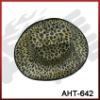 New design leopard grain cap