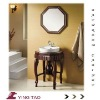 Best selling french contemporary bathroom cabinet basin set