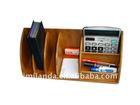 Bamboo desk organizer