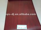 PVC film with wood grain in self-adhesive