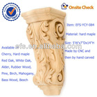 antique wood home ornaments of wood applique (EFS-YCY-084)
