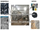 5th generation waste tyre pyrolysis plant in India