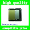 Back Brushed Aluminum Cover Housing For iphone5 yellow