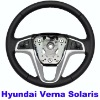 Hyundai Verna Solaris Original Steering wheel with control buttons Real Leather Free Shipping