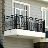 cast ductile iron window fence for house