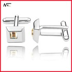 Free shipping new design with crystal MT12021022 jewelry supplies cufflinks