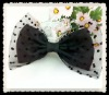 Excellent big bow headband for dressing party