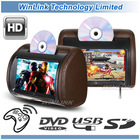 9 inch Headrest Screen DVD Player(zip cover & wireless headphone optional)