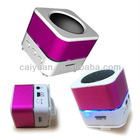 rechargeable fm radio usb sd card speaker box