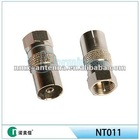 Antenna adapter IEC to F male