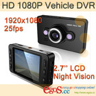 2012 NEW D6 2.7 HD 1080P Vehicle DVR IR LED Night Vision Car Cam Blackbox DV