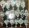big rhinestone brooches with pandent