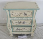 Handpainted Home Furniture Wooden Cabinet