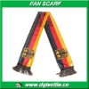 Germany football sport Fan Scarf of 100% polyester knitted