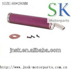 motorcycle muffler pipe 60*280 exhaust pipe