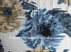 linen printed fabric for latest polo shirt