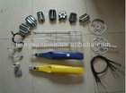 hot selling low price strong steel bicycle bike parts group set