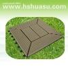 eco-friendly wood plastic composite decking/floor tile