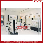 High quality optical shop display with optical display cabinets and light box