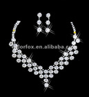 Gorgeous Crystals Diamonds Bridal Wedding Jewelry Necklace (COLORFOX-NL-004)