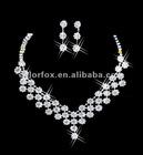 Gorgeous Crystals Diamonds Bridal Wedding Jewelry Necklace (COLORFOX-NL-004)