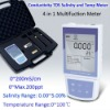 Professional Digital Large LCD Salinity Conductivity and TDS Temp Meter