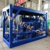 Skid-mounted Oil water and gas three phase separator
