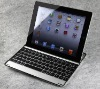 Hot for i pad 2 3 bluetooth keyboard aluminum with lithium battery