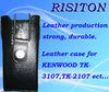 TK-3107 walkie talkie Leather Case Series two way radio Leather Case