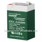 6V,4Ah Rechargeable Sealed Lead-Acid Battery