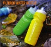 fashion plastic filtered water bottle contain carbon in outdoor