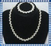 5-6mm potato freshwater pearl jewelry set